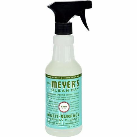 Mrs. Meyer's Multi Surface Spray Cleaner - Basil - 16 Fl Oz