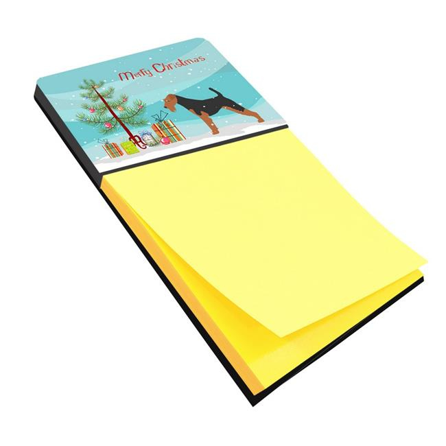 Carolines Treasures BB2903SN Welsh Terrier Merry Christmas Tree Sticky Note Holder - image 1 of 1