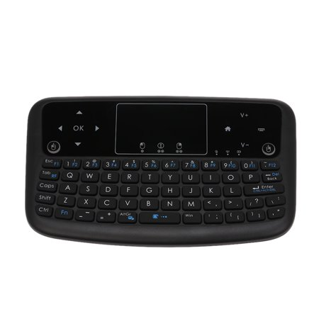 A36 Mini Wireless Keyboard  Air Mouse Rechargeable Touchpad Keyboard For Android TV Box Smart TV PC PS3 ()