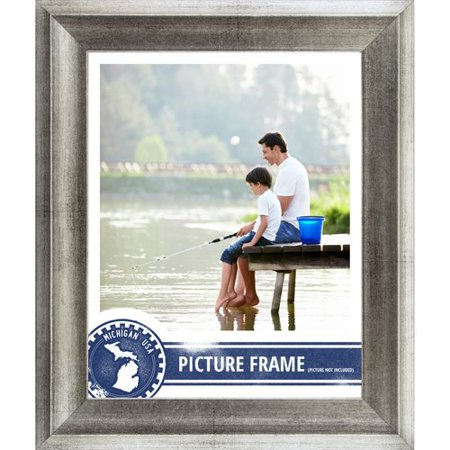 Craig Frames Inc. 1.5\'\' Wide Distressed Picture Frame / Poster Frame