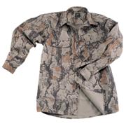 Bush Shirt Natural Camo Large