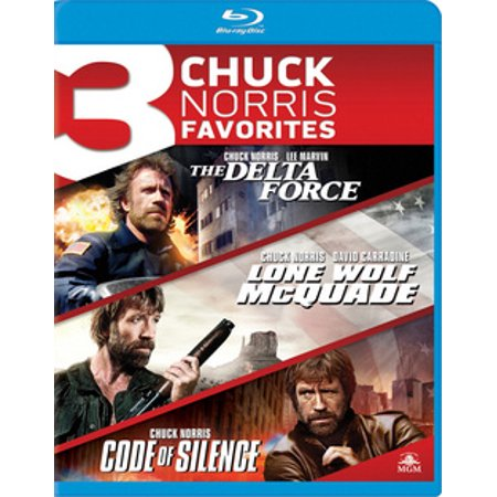 The Delta Force / Lone Wolf McQuade / Code of Silence (Blu-ray)