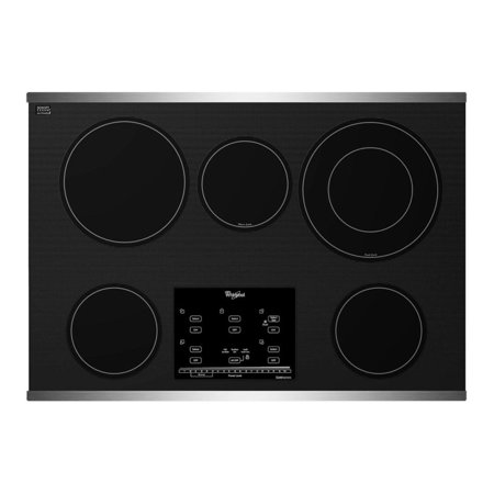 whirlpool g9ce3065xs gold 30 stainless steel electric smoothtop cooktop. Black Bedroom Furniture Sets. Home Design Ideas