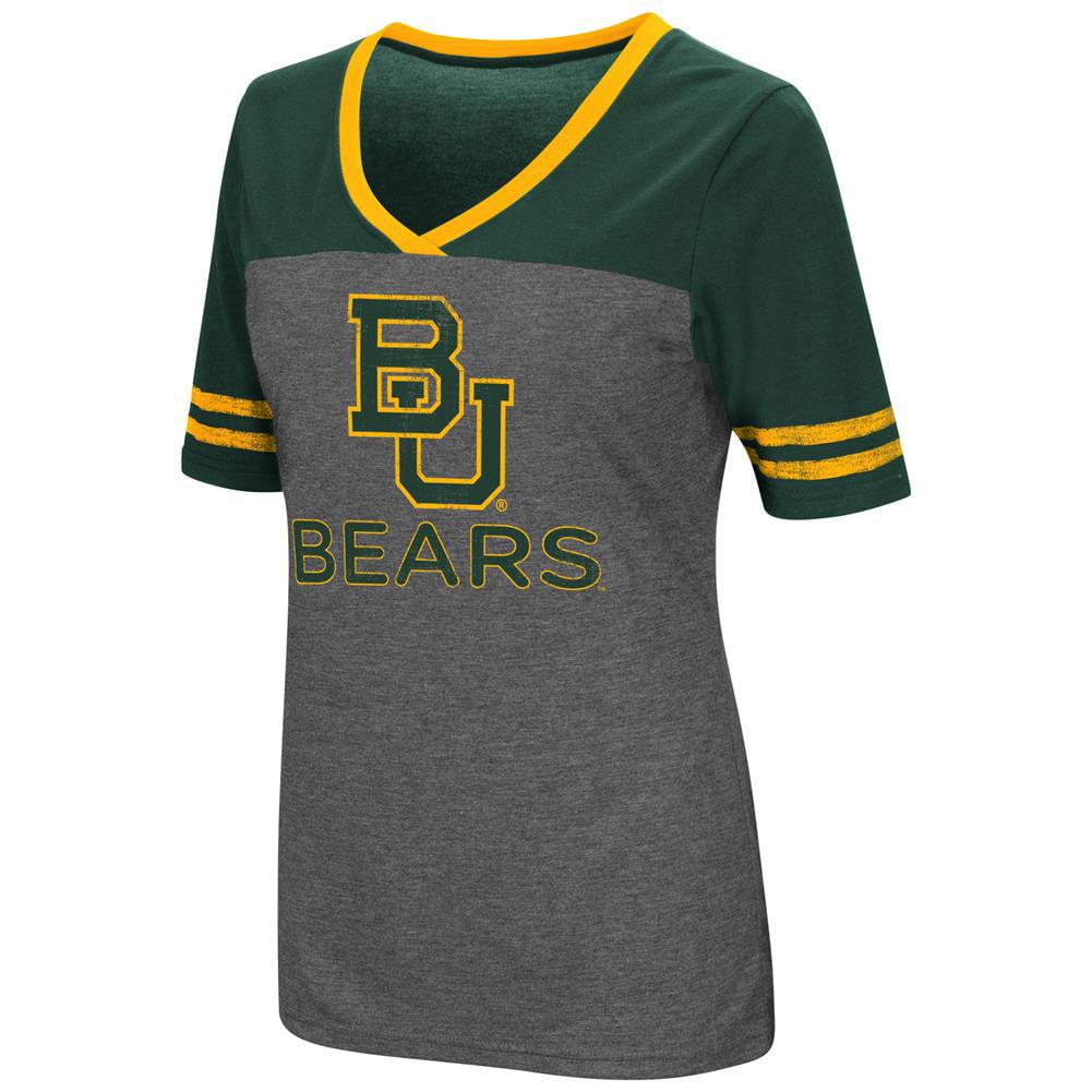 Ladies Colosseum Mctwist Baylor University Bears Jersey T Shirt