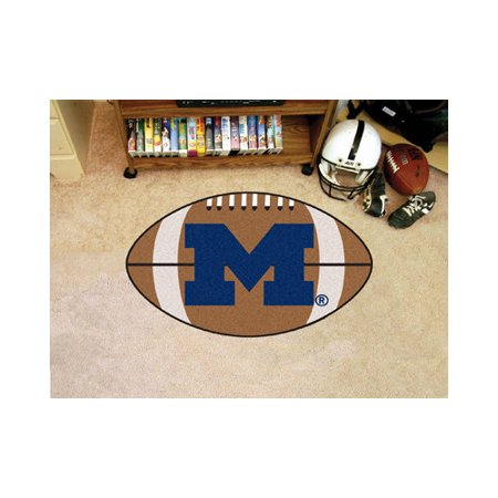 University of Michigan Football Mat - Michigan University Basketball Rug