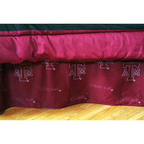 College Covers NCAA Texas A&M Dust Ruffle