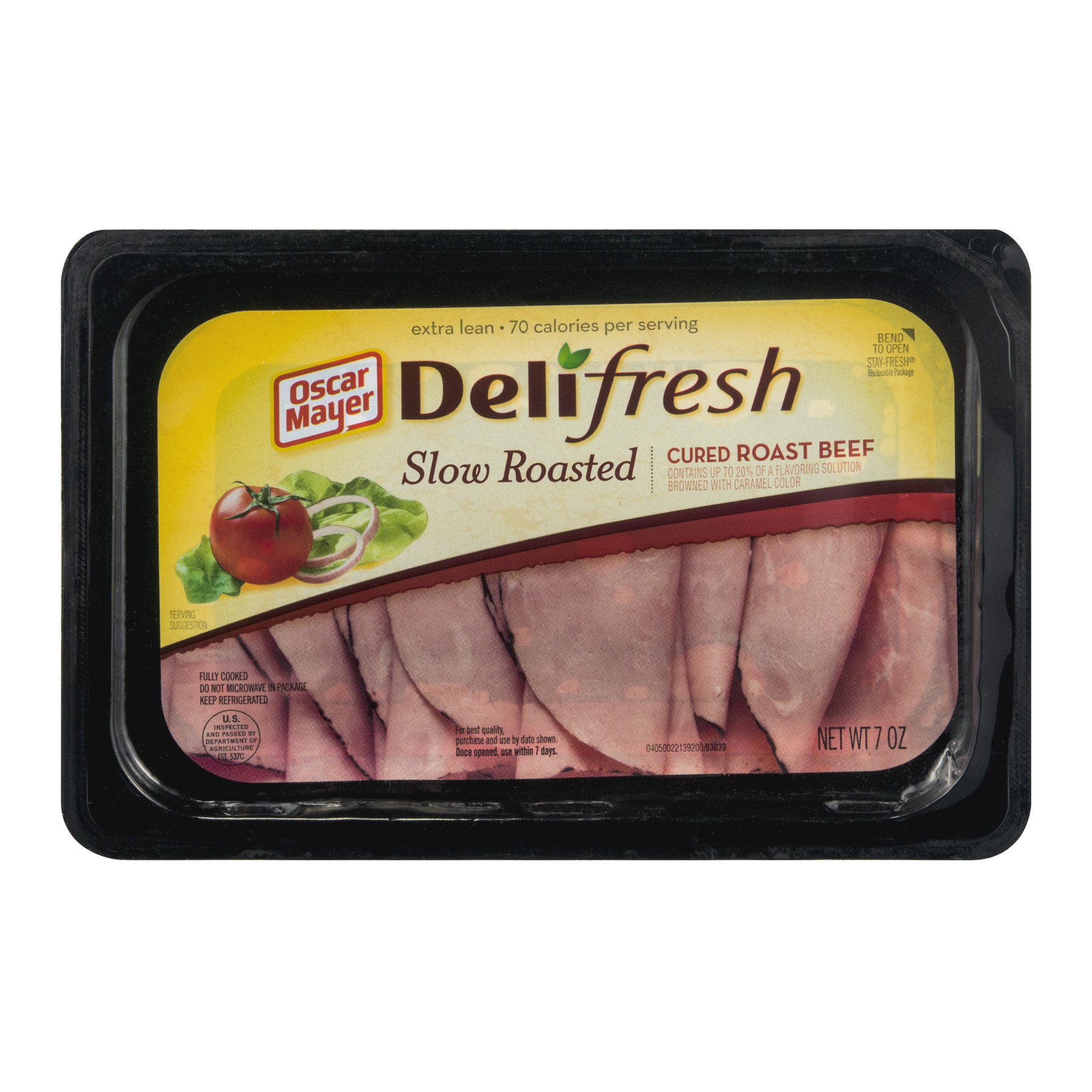 Oscar Mayer Deli Fresh Slow Roasted Cured Roast Beef