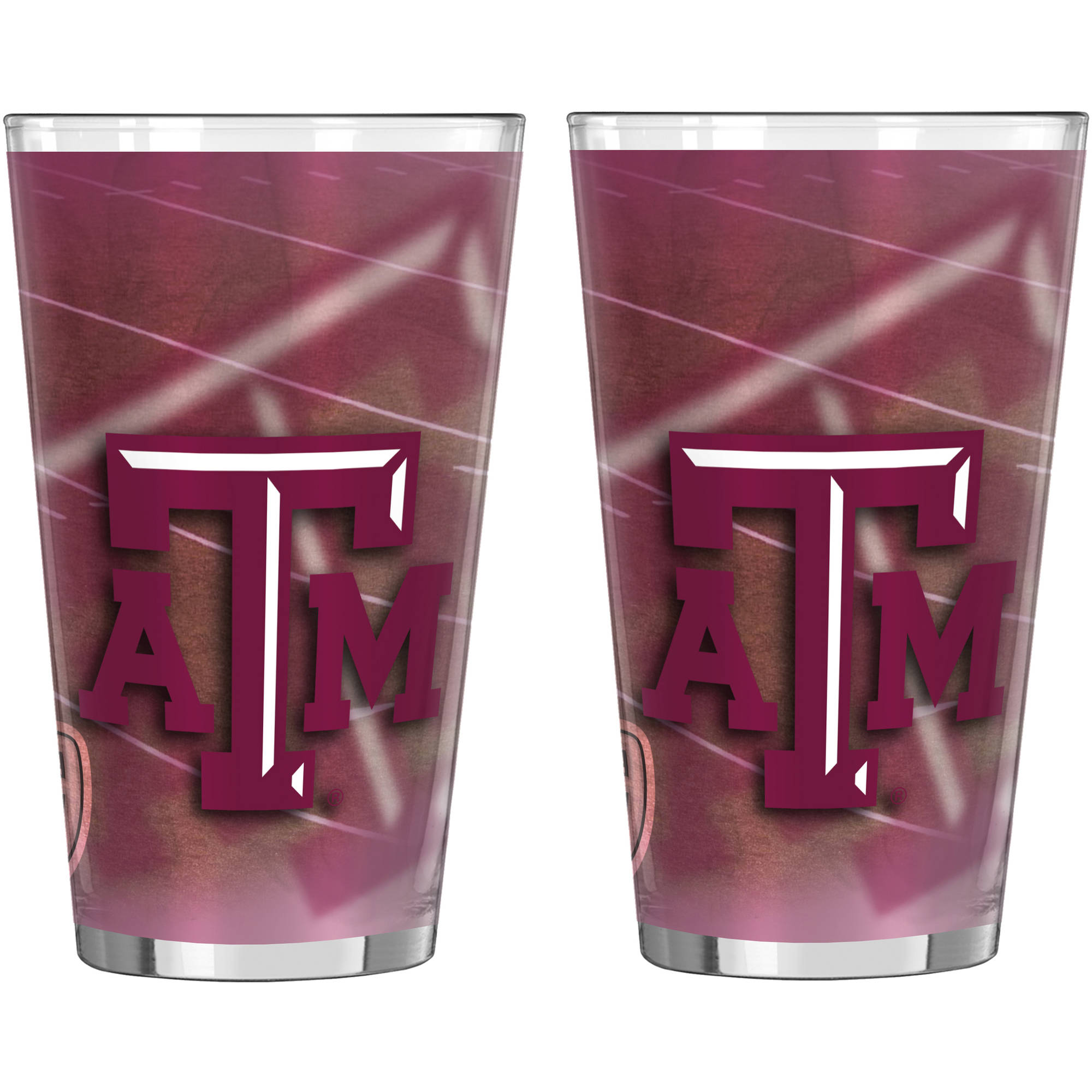 NCAA Texas A&M Aggies 2-Pack Shadow Sublimated Pint