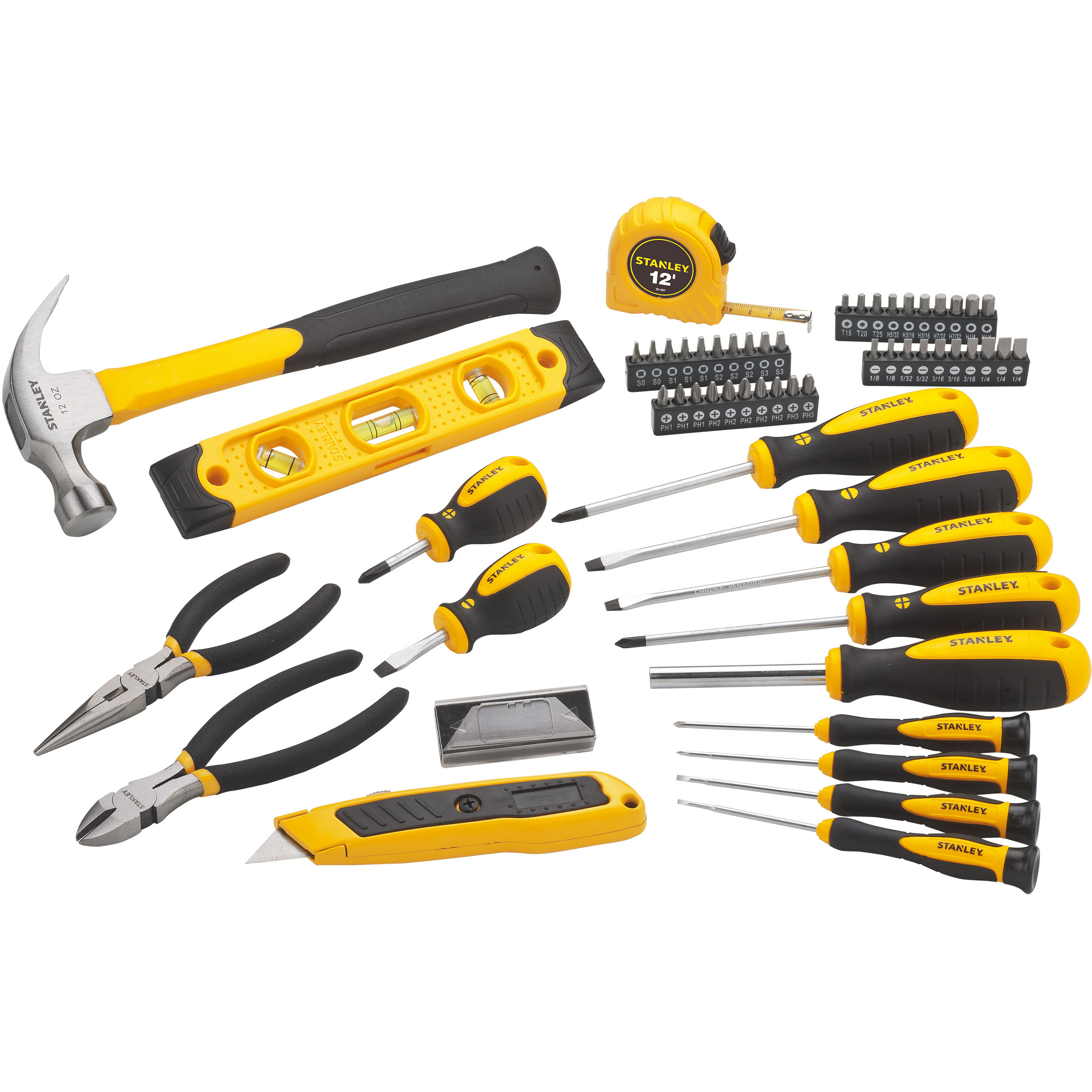 STANLEY STHT75984 68pc Mixed Hand Tool Set