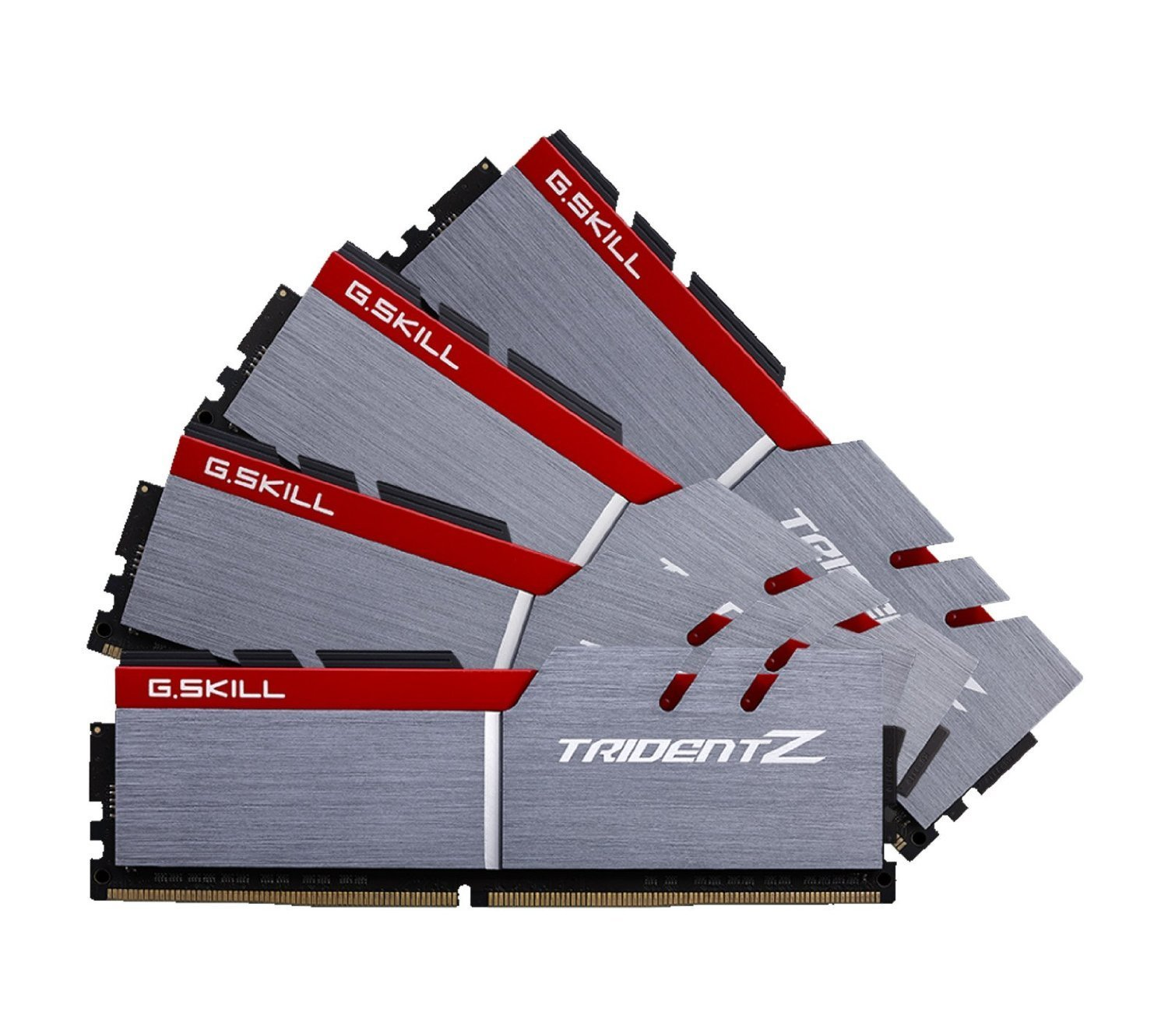G.SKILL TridentZ Series 64GB (4 x 16GB) 288-Pin DDR4 3200Mhz (PC4 25600) Desktop Memory F4-3200C16Q-64GTZ