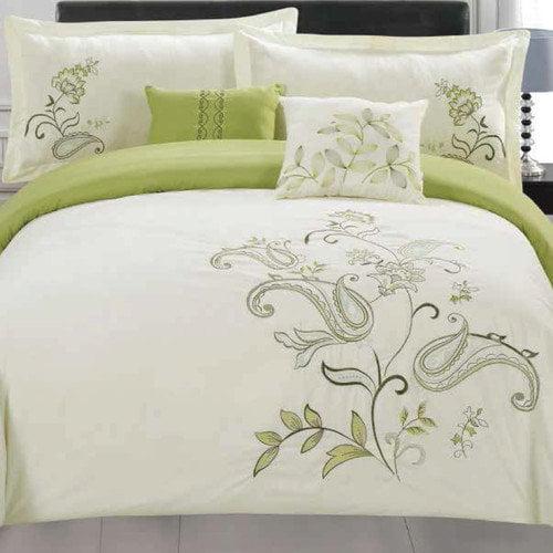5-Piece Jordana Embroidered Comforter Set