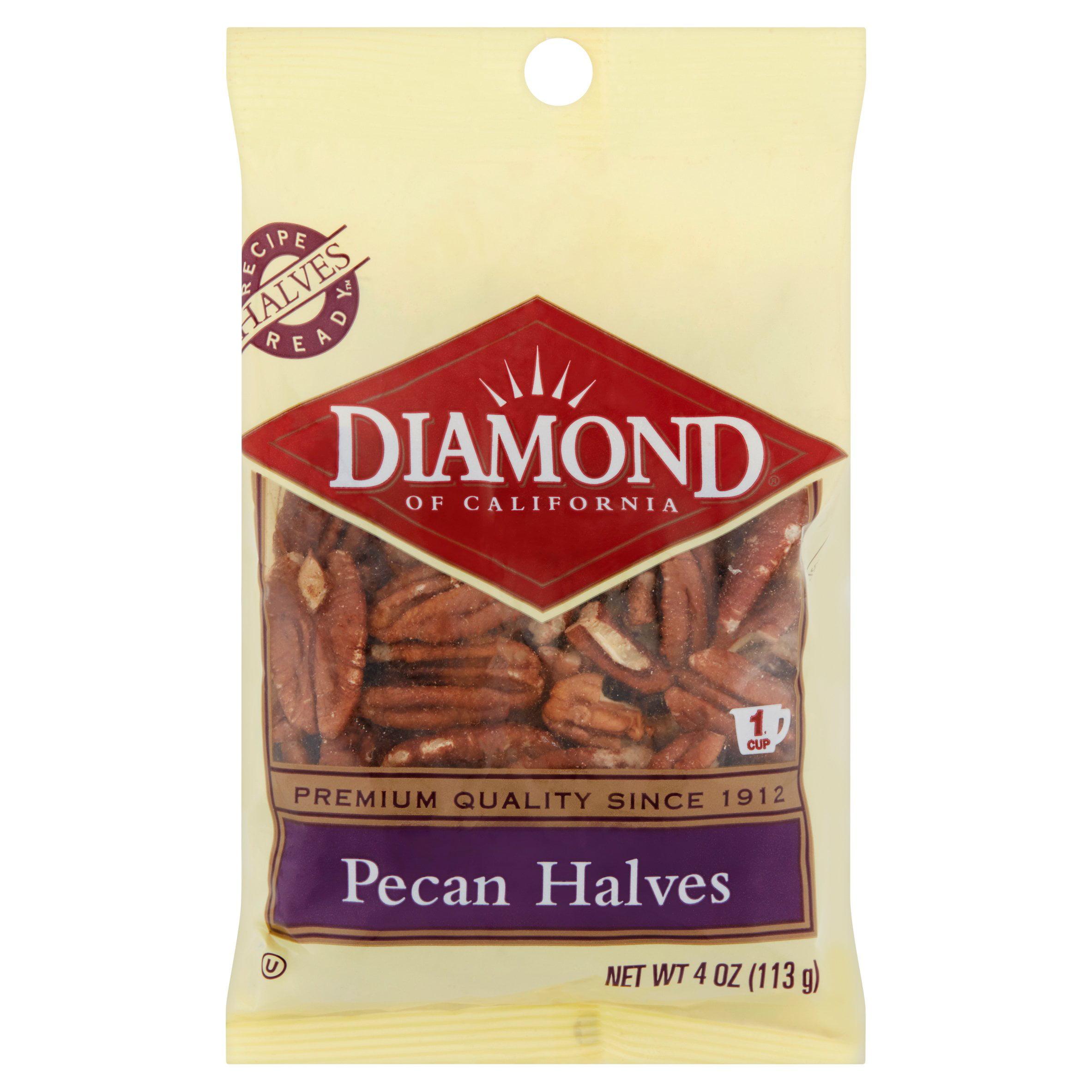 Diamond of California Pecan Halves, 4 oz by Diamond Foods, Inc.