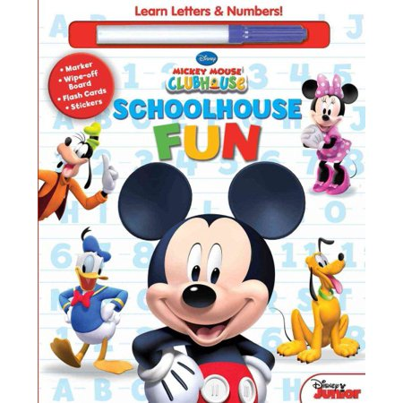 Disney Mickey Mouse Clubhouse  Schoolhouse Fun  A  B  Cs   1  2  3S