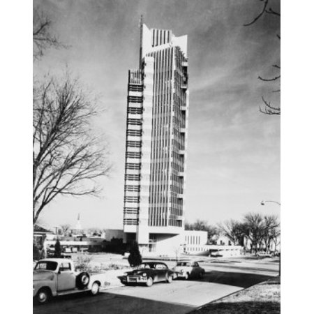 Usa oklahoma bartlesville price tower designed by frank for Frank lloyd wright oklahoma