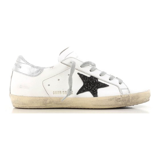 5a637866b2f07 Golden Goose - Golden Goose Deluxe Brand Superstar Black Glitter ...