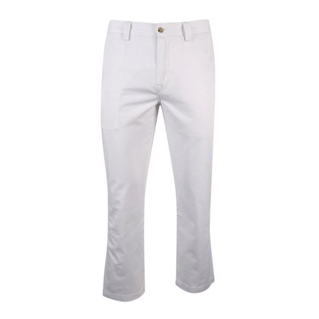 Ralph Lauren White Pants - Polo Ralph Lauren Men's Classic-Fit Chino Pants (34x32, White)