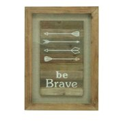 Donny Osmond Home Be Brave Framed Graphic Art