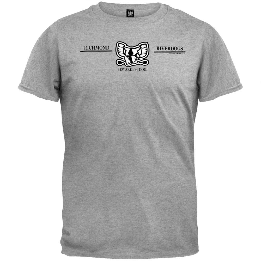 Richmond Riverdogs Beware Of The Dog - Heather T-Shirt