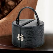 Handbag-Style Black Jewelry Box