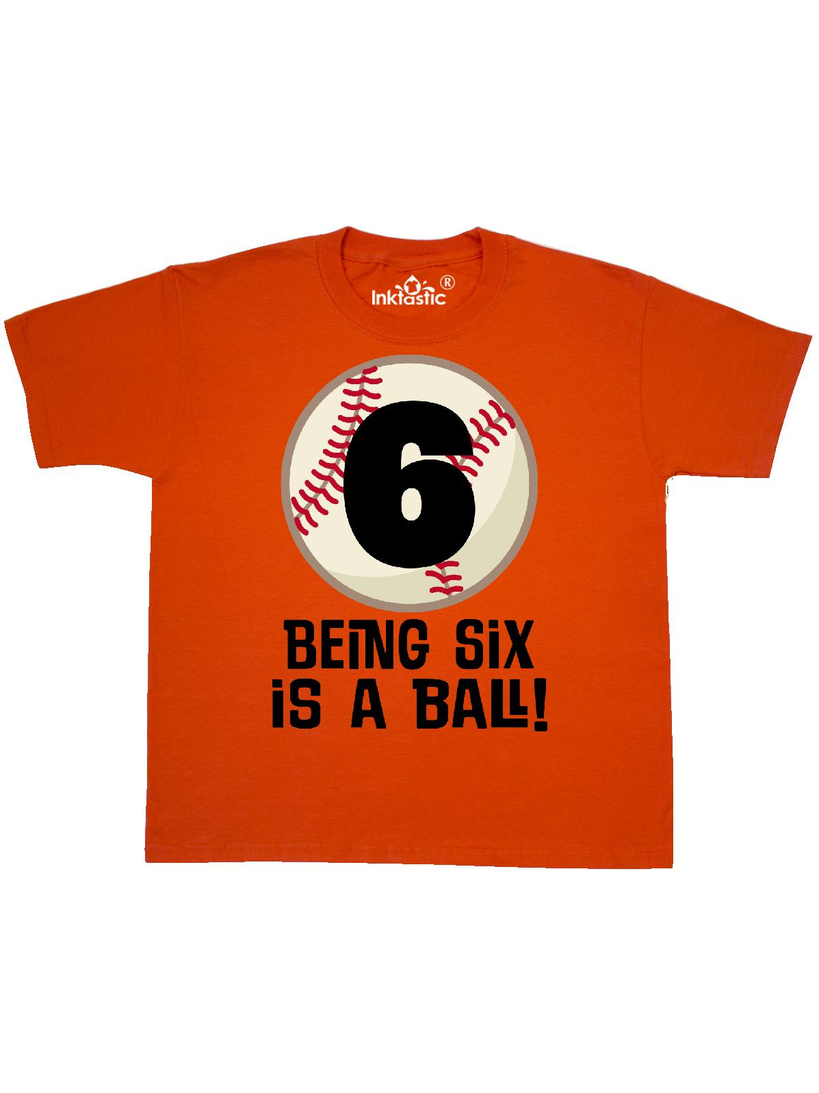 "Inktastic Hermit Crab Birthday T Shirt For 6th Birthday Youth T-Shirt /""hermit /""6"
