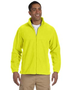 Harriton M990T Men's Tall 8oz. Full-Zip Fleece Jacket