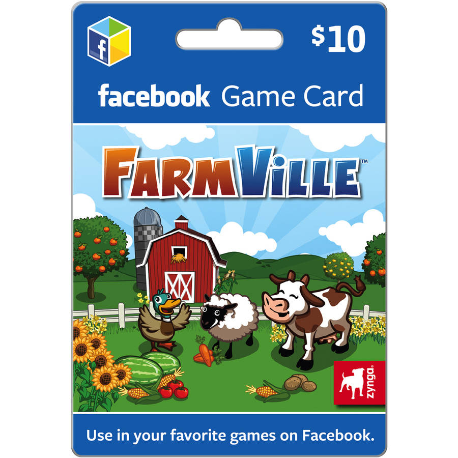Farmville Facebook $10 eGift Card (Email Delivery)