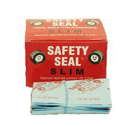 "Safety Seal SSRS Tire Repair Refills, 60 4"" Slim Inserts, to Repair Small Punctures, for Autos and Light Trucks"