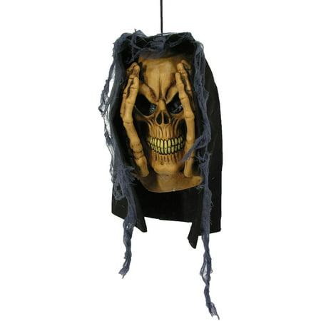 Peeping Tom Window Prop Skull Halloween Decoration (Tom Cassell Halloween)