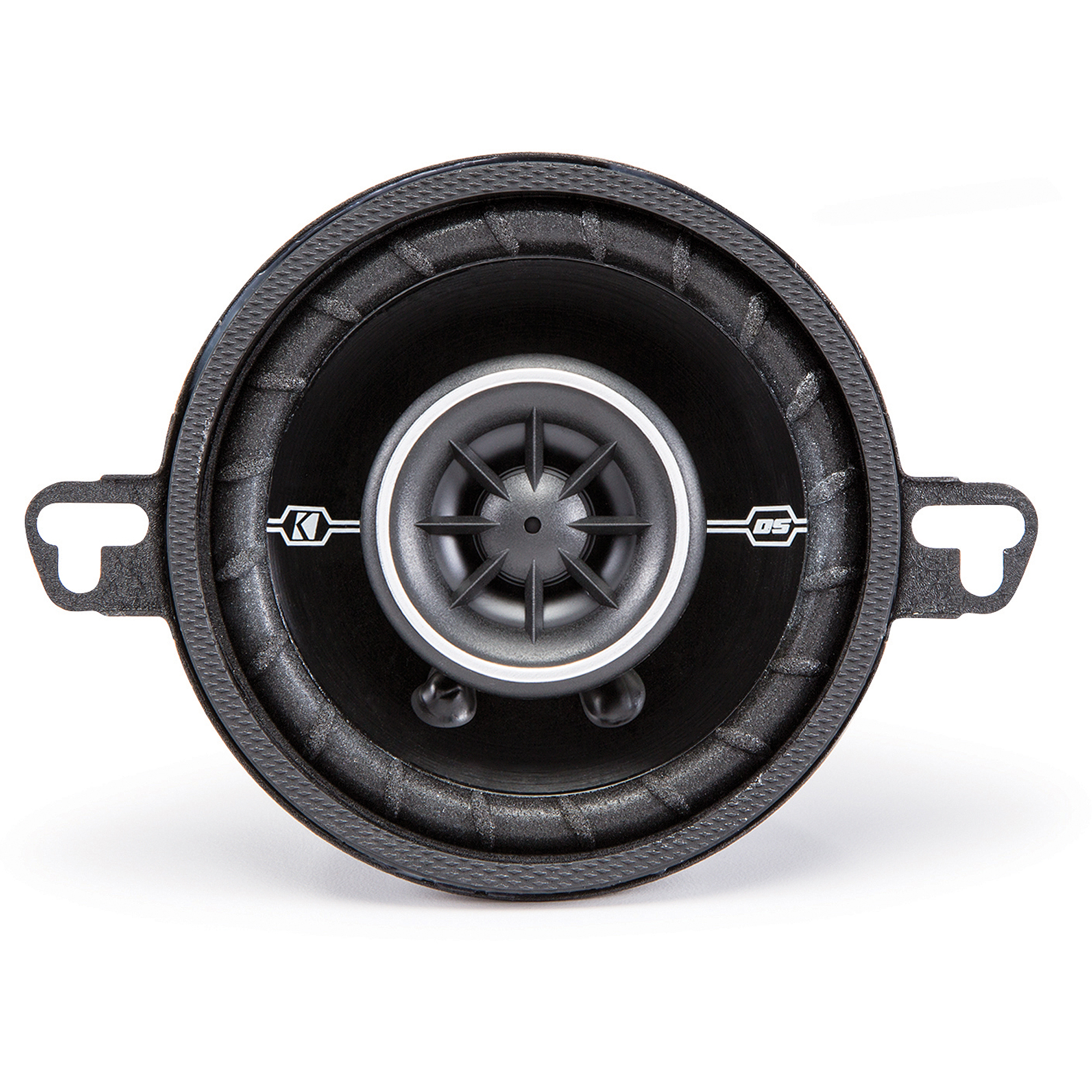 "Kicker DSC35 3.5"" 4-Ohm Coaxial Speakers with 1/2"" Tweeters"