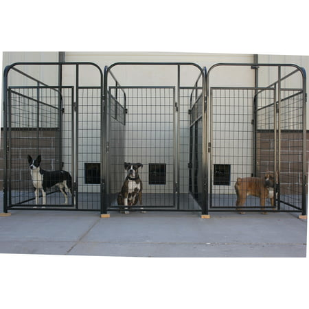 X3 K9 Kennel Store Multiple 4 X 4 Inside 4 X 6 Outside