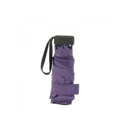 Small Umbrellas (VICOODA Mini Pocket Umbrella Windproof Lightweight Folding Umbrella Travel Small and Compact)