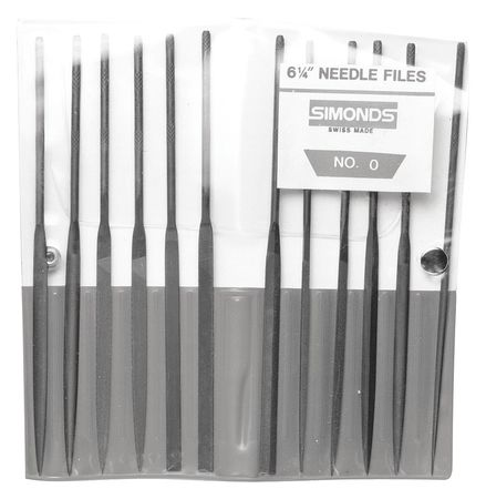 Simonds Needle File Set, 83522000