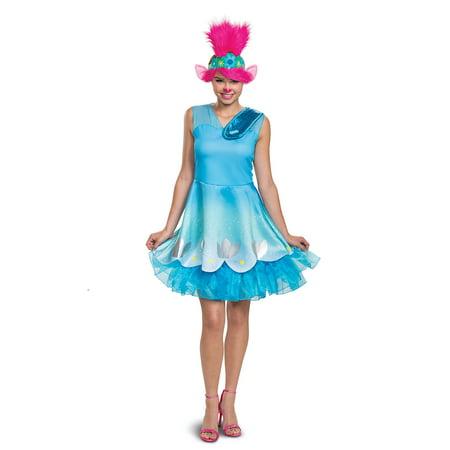 Cars Movie Halloween Costumes (Trolls Movie Poppy Adult Halloween Costume)