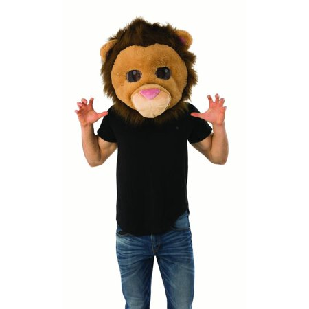 Adult Lion King Of The Jungle Animal Mascot Halloween Costume Mask - Lion King Halloween Costumes For Babies