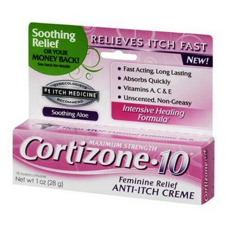 Feminine Relief - Cortizone 10 Feminine Relief Anti-Itch Creme - 1 Oz