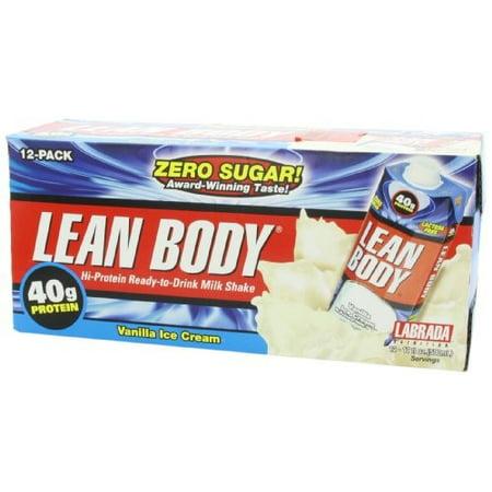 Labrada Nutrition Lean Body Rtd   Vanilla Ice Cream  12 17 Fl  Oz   500Ml