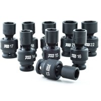 Omega Pro 83021 9-Piece Swivel Metric Impact Sockets