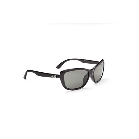 Optic Nerve Goggles - Optic Nerve Vargas Sunglasses, Shiny Black, Polarized Smoke Lens -