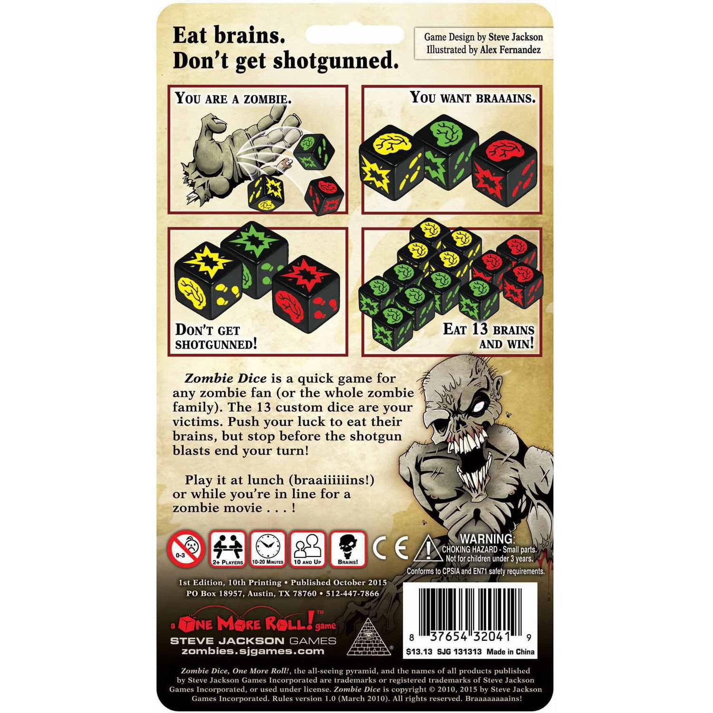 zombie dice game walmart
