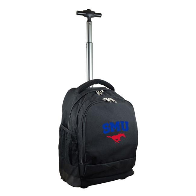 Denco Sports Luggage CLSML780-BK 19 in. Mojo Southern Methodist Premium Wheeled Backpack, Black - image 1 of 1