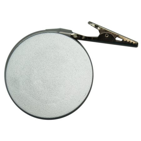Silver Grey Copyholder Monitor Mount Clip