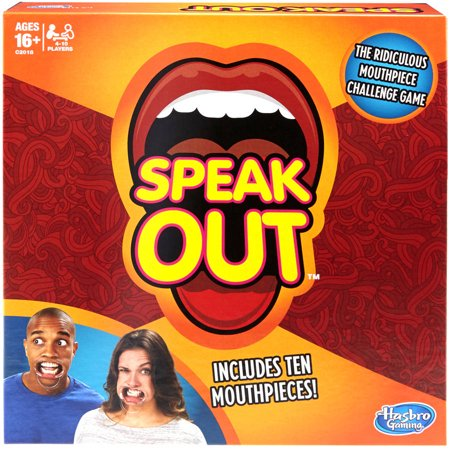 Speak Out Game - Halloween Drinking Games 2017