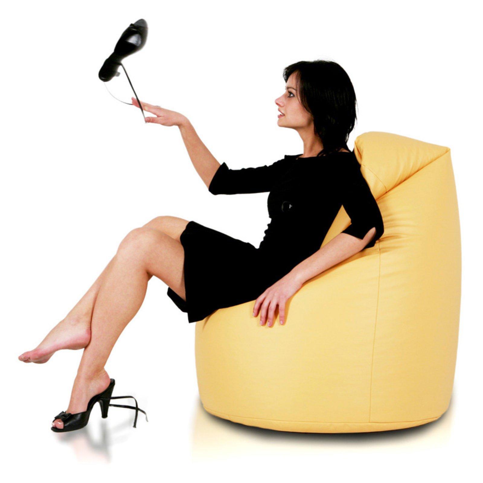 Turbo Beanbags Mega Sack Large Bean Bag Chair
