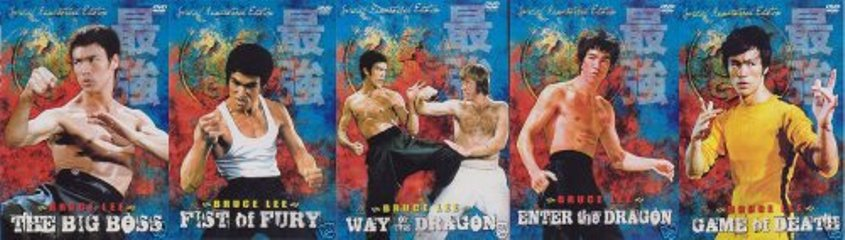 Bruce Lee Complete Collection 5 DVD Set by