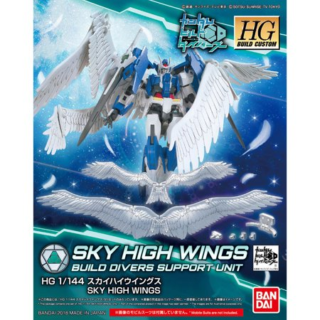 Bandai Hobby Build Divers Gundam Build Skyhigh Wings 1/144 HG Model