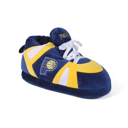 882c234f9a6449 Happy Feet Mens and Womens NBA Indiana Pacers - Slippers - Small -  Walmart.com