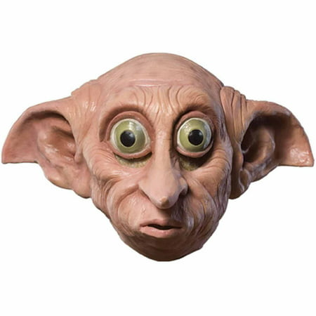 Harry Potter Dobby Mask Adult Halloween Costume Accessory - Dobby Costume Halloween