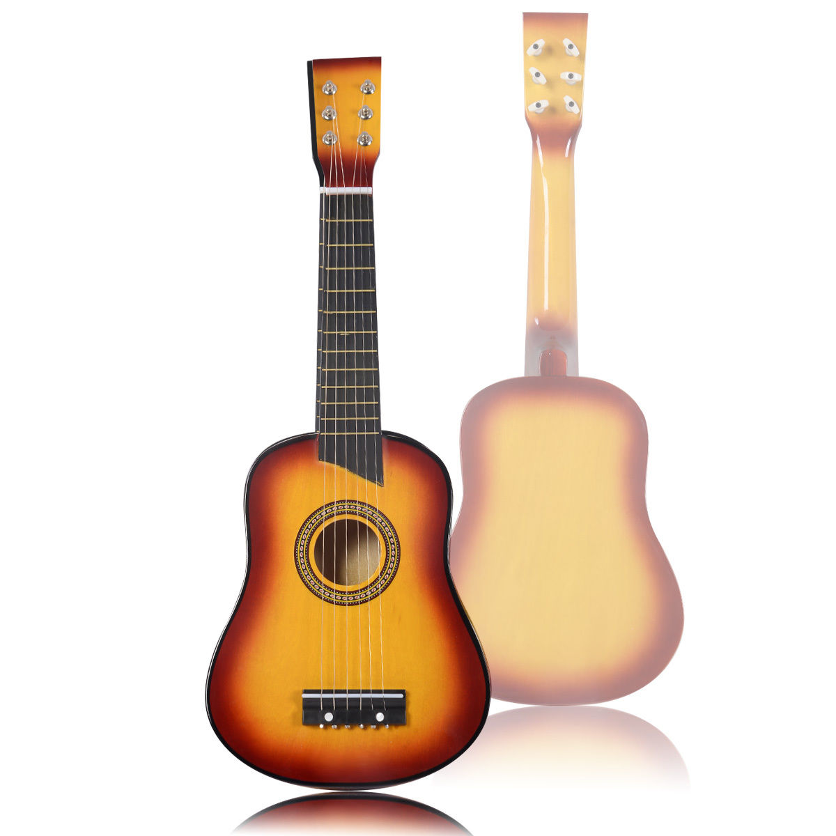 25''Beginners Kids Acoustic Guitar 6 String with Pick ...