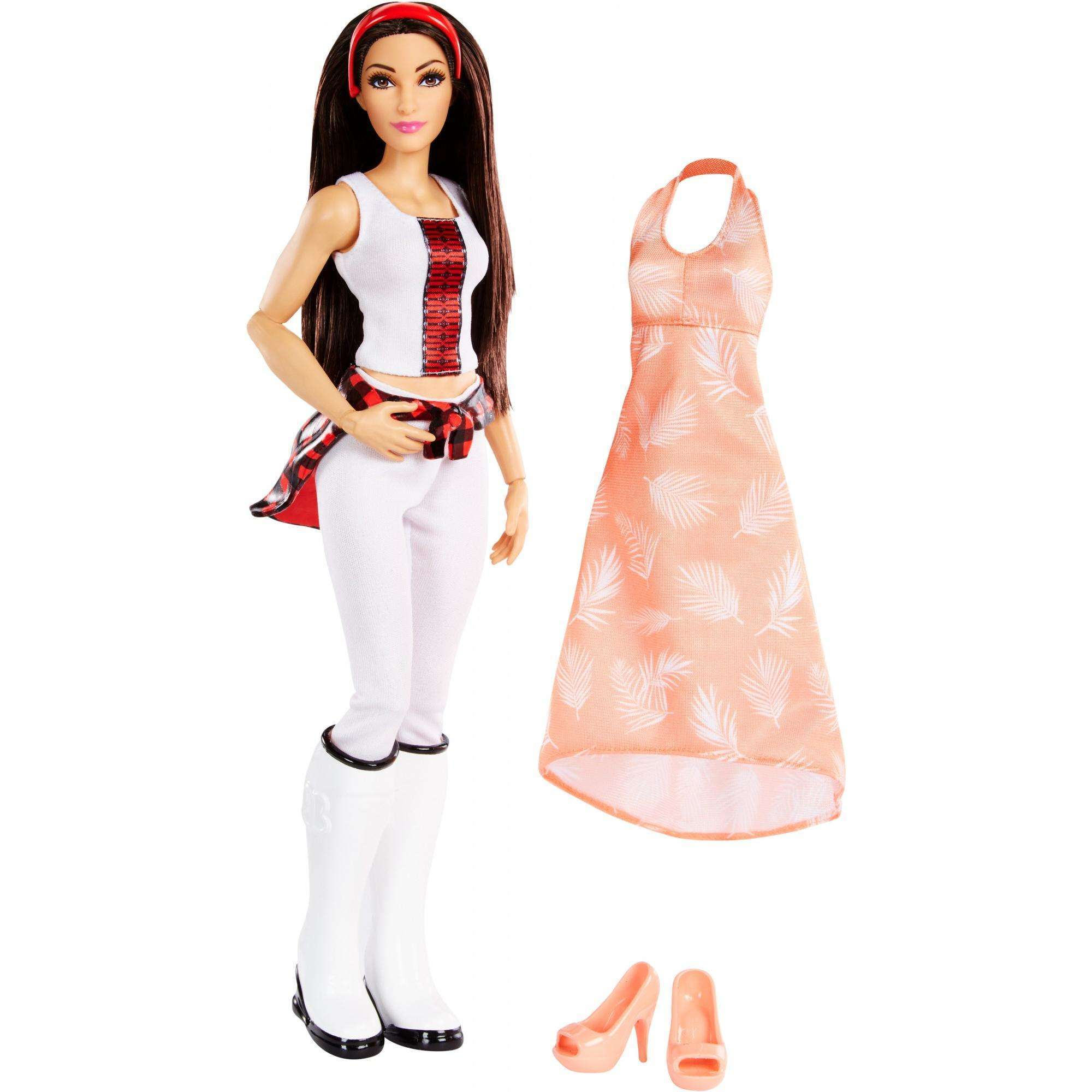 WWE Superstars Bris Bella 12-inch Action-Fashion Doll Plus 1 Outfit