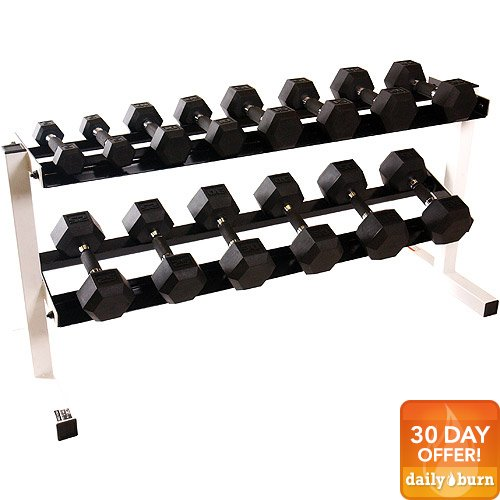CAP Barbell Polyurethane Infused Dumbbell